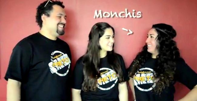 Luis, Denisse y Monchis