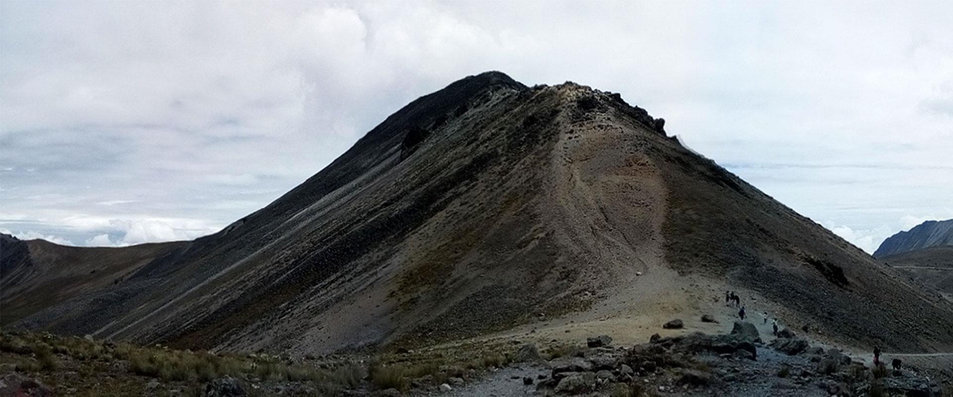 Nevado de Toluca, visto con los lentes de sol Eagle Eyes.
