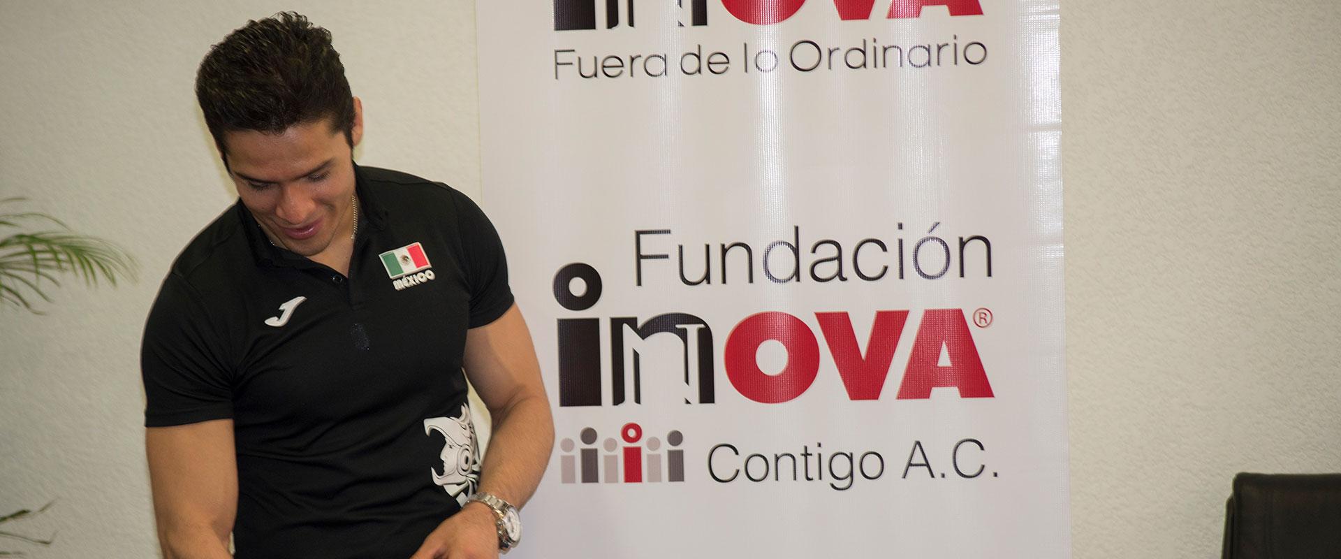 Representante de Fundación Inova en la Asociación para evitar la Ceguera en México, I.A.P.