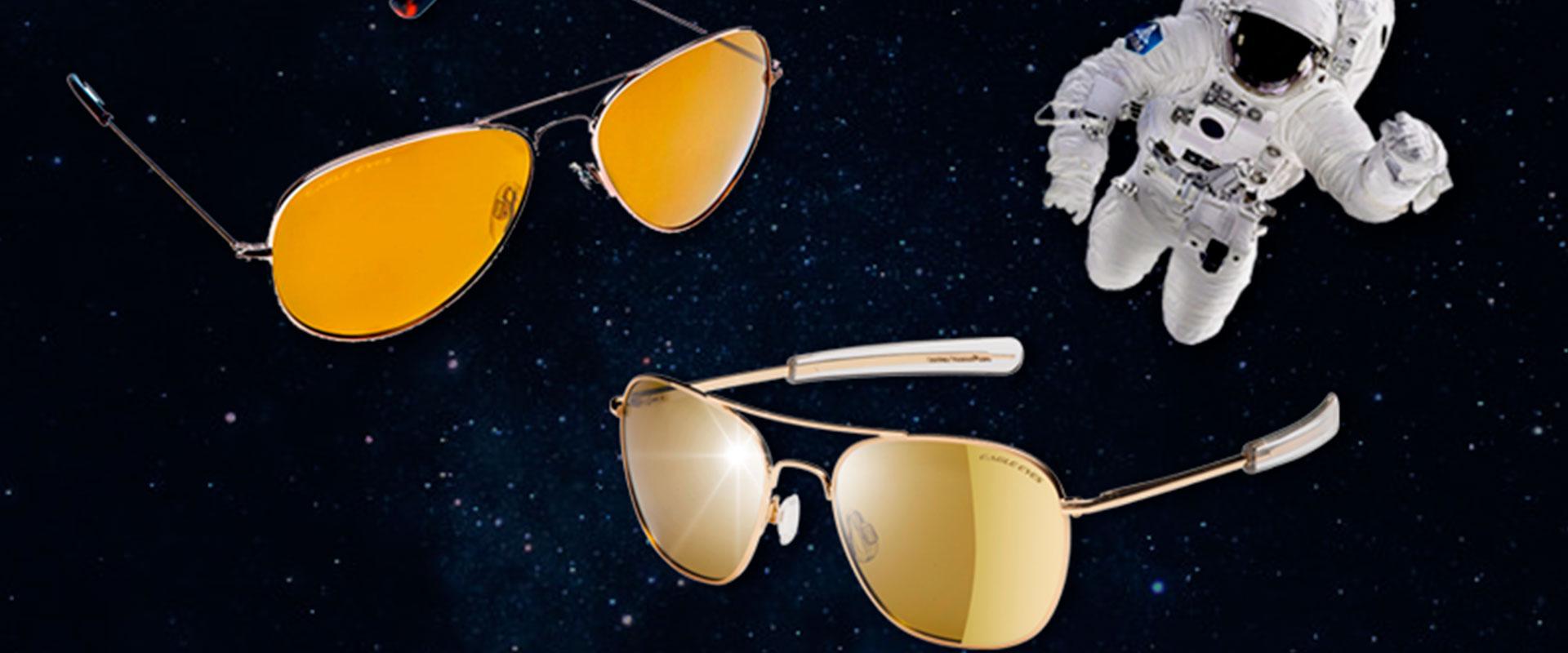 Los lentes de sol Eagle Eyes tienen tecnología de la NASA.