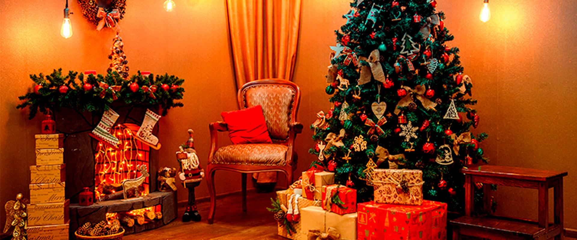 Fiesta de Navidad iluminada con Startastic.