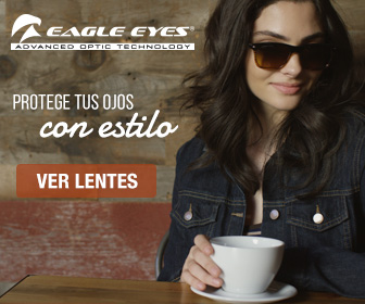Recibe la temporada de calor con los Eagle Eyes® Larissa