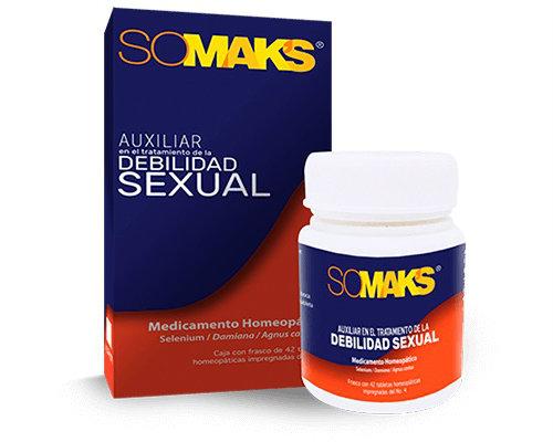 Somaks®potenciador del deseo sexual en tabletas