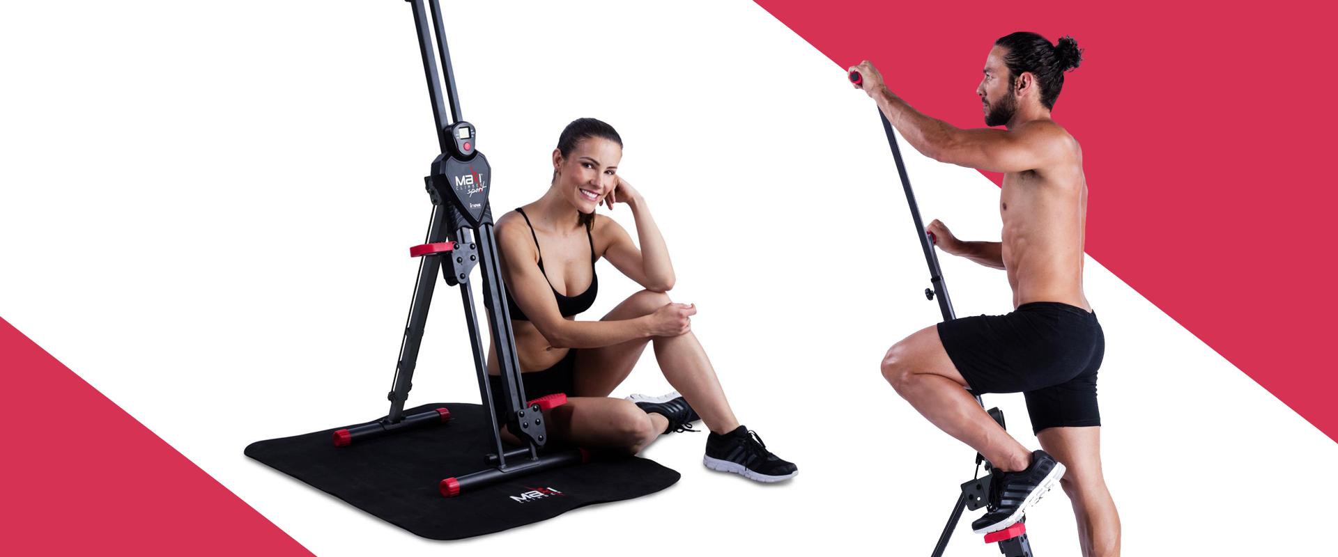 Imagen del aparato de ejercicio llamado MaxiClimber Sport.