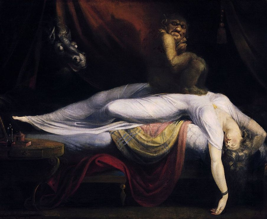 La pesadilla de Johann Heinrich Füssli