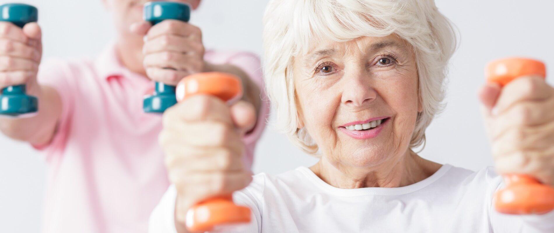 Rutina fácil de Gravity ABS para adultos mayores